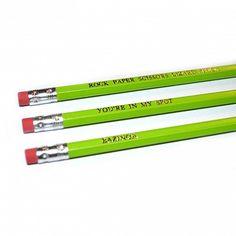 Big Bang Theory Pencils
