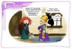 Pocket Princesses 233: Expedition Please reblog, don't repost, edit or remove captions