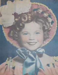 1935 Shirley Temple as The Little Colonel