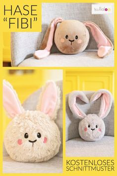 Wonderful Mesmerizing Sewing Ideas for All. Awe Inspiring Wonderful Mesmerizing Sewing Ideas for All. Rabbit Toys, Bunny Toys, Bunny Plush, Tiny Bunny, Cute Bunny, Diy Bebe, Sewing Pillows, Baby Pillows, How To Make Pillows