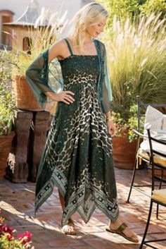66ea6612c1 Panthera Dress from Soft Surroundings Cruise Outfits Carnival