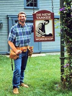 Norm Abram – The Slightly Confused Woodworker Youtube Woodworking, Woodworking As A Hobby, Woodworking Plans, Workshop Plans, Garage Workshop, New Yankee, I Salute You, Coffee Table Plans, Cabinet Plans