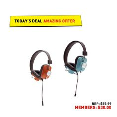 Today's deals sounds great to us (literally! Wrap these headphones from around your ears.