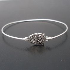 Little Owl Bracelet Cute Owl Jewelry Fashion Owl by FrostedWillow, $14.95