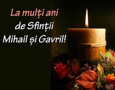 de toate: sfintii mihail  si Gavril Pillar Candles