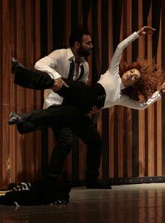 Delfos Danza Contemporánea y Filarmónica de la Ciudad de México en Bellas Artes. Bolero de Ravel.  Foto: Abril Cabrera A.