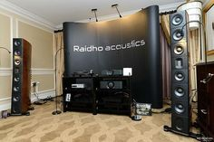 The stunning Raidho Acoustics 4.1 Speakers with Aavik U-300 Integrated Amplifier, Nagra Audio at this years #CES2017... Pictures courtesy of My-Hiend.com #TheSpeakerShack #RaidhoAcoustics #Aavik #MYHIEND #CES2017 #Speakers #Amplifiers #Audio #HighEnd #Music
