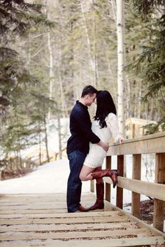Beautiful outdoor engagement shoot in Pembina River Provincial Park, Alberta