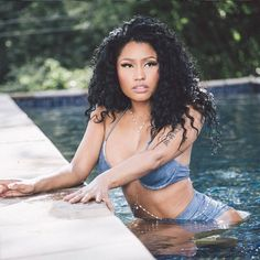 "Nicki Minaj is the definition of ""Feelin' Myself"" in the #NastyGal Jean Genie…"