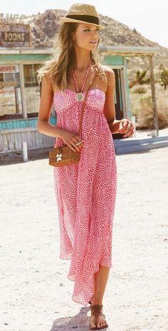 Summer Outfits Women 20s, Summer Outfit For Teen Girls, Summer Dress Outfits, Casual Summer Outfits, Dress Summer, Beach Dresses, Maxi Dresses, Under Armour, Beach Wear