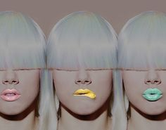#lips #flourescent