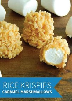 How can you stop with just one caramel-coated marshmallow that's rolled in Rice Krispies® cereal? Make a double batch of this quick and easy recipe with the kids and keep this treat around the house for the holidays.