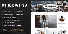 Download Flexblog v1.2 - Fast & Creative WordPress Blog Theme Nulled Latest Version