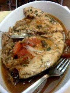 Mangio bene, mangio siciliano!: Zuppa di Pesce Spada alla Trapanese