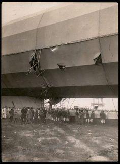 damaged Zeppelin
