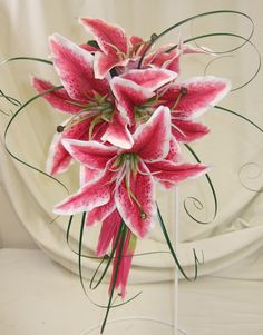 #stargazer #lily #bouquets #flowers #weddings