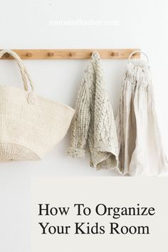Decluttering kids rooms can be easy, you just have to have a process in place. These kids room decluttering tips will help you manage all those clothes, what to keep, what to donate and how to organize your kids rooms quickly. www.rootsandharbor.com Organizing Your Home, Organizing Tips, Boy Toddler Bedroom, Clutter Solutions, Paper Organization, Simple Life Hacks, Mom Blogs, Declutter, Organize Kids