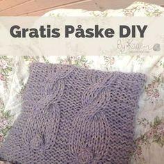 Gratis opskrift på påskepude, www.bykaae.dk