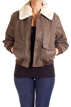 Dazly Women's 100% Leather Jacket Bom... $39.99 #bestseller