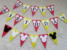 PDF Mickey Mouse Birthday Party Photo Booth by chelawilliams