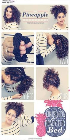 1438 Best Overnight Hair Curls Images On Pinterest In 2018 Curly