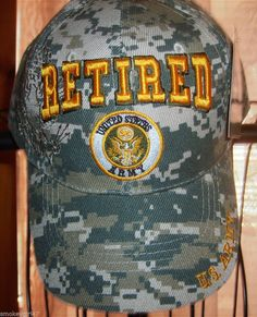 Retired United States Army Hat/Cap with tags - Elite Images Army Hat, United States Army, Military, Cap, The Unit, Best Deals, Shopping, Baseball Hat, Us Army