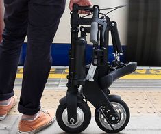 Increase your productivity by cutting down on travel time using this electric folding bicycle. It is the world's lightest and most compact electric bike ever built, transforming in seconds for maximum convenience with a range of fifteen miles.