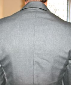How to tailor a man's suit coat/jacket to make it slimmer (an alteration for if the coat is too big in the waist).