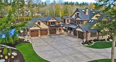 Craftsman style dream house plan