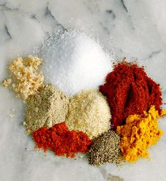 Homemade Rotisserie Chicken Seasoning - Frugal Hausfrau Try this on Rotisserie Chicken, but don't be afraid to spinkle this magic dust anywhere inspiration hits! Rotisserie Chicken Seasoning, Chicken Rub, Chicken Spices, Best Seasoning For Chicken, Chicken Fajitas, Baked Potato Wedges Oven, Oven Roasted Potatoes, Homemade Spices, Homemade Seasonings