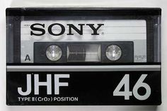 SONY/JHF/パッケージ Casette Tapes, Vhs Cassette, Sony Design, Sony Electronics, Magnetic Tape, Tape Recorder, Philips, Boombox, Audio Equipment