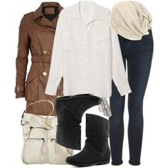 """""""Allison Inspired Winter Trip Outfit"""" by veterization on Polyvore"""