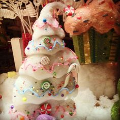 Fairytale Christmas window display