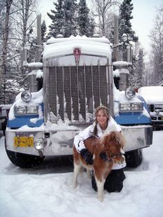 Resultado de imagen para lisa kelly ice road truck… - US Trailer can rent used trailers in any condition to or from you. Contact USTrailer and let us rent your trailer. Click to http://USTrailer.com or Call 816-795-8484