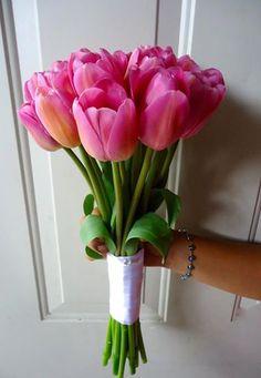 CBR222 Wedding Riviera maya Tulips Bouquet/ Ramo de tulipanes bodas riviera maya