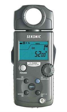 Sekonic C-500 ProDigi Color Meter
