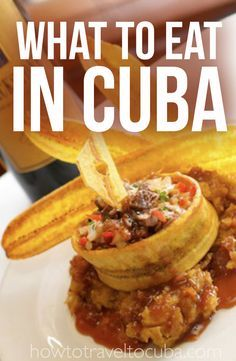 Information on the different types of food in Cuba and types of restaurant options. Covering the entire budget spectrum from street food to fine dining. Cuban Restaurant Miami, Sugar Miami, Cuban Bread, Best Cocktail Bars, Cuban Dishes, Cuban Cuisine, Lunch Items, Food Inc, Cuba Travel
