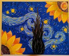 Gouache, Canvas Art, Night, Artist, Artwork, Work Of Art, Auguste Rodin Artwork, Artists, Painted Canvas