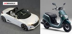 The #Honda power! The details of cars & bikes to be launched at the 2013 Tokyo Motor Show are released by Honda.