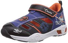 awesome Planes Boys Kids Athletic Sport - zapatilla deportiva de material sintético niño, color multicolor, talla 29