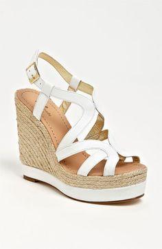White wedge http://shop.nordstrom.com/S/kate-spade-new-york-liv-wedge-sandal/3383173?origin=category=Sandals