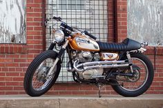 A much nicer version of my old bike. sigh.  350 Honda 1970's classic.