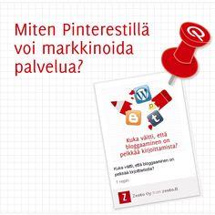 Miten Pinterestillä voi markkinoida palvelua? http://www.zento.fi/blog/miten-pinterestilla-voi-markkinoida-palvelua