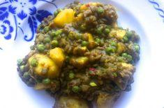 lilith deelt een recept voor spicy aardappelcurry met linzen en appeltjes - Tales from the Crib