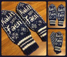 Bilderesultat for votter med ugler Gloves, Winter, Cold, Mittens