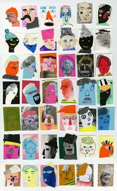 a well respected man - Kjersti Johanne Barli Art And Illustration, Illustrations, Carta Collage, Collage Art, Art Carton, Art Plastique, Elementary Art, Art Sketchbook, Art Lessons