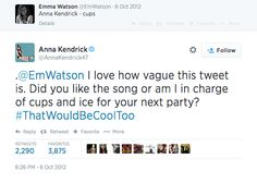 When this happened. | Emma Watson Doesn't Get Twitter And It's Ridiculously Cute