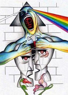 wall art ideas design lee howard pink floyd the wall art black pink floyd the wall artwork pink floyd classic rock music band art silk poster print pink floyd the wall artwork pink floyd the wall artwork wall art ideas design complete electrics pink. Rock And Roll, Rock Posters, Band Posters, Art Pink Floyd, Pink Floyd Artwork, Pink Floyd Poster, Pink Floyd Quotes, Imagenes Pink Floyd, Tattoo Pink