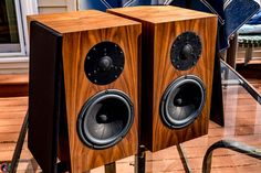 Paramount Home Theatre Acoustic vision Floor Speakers Vintage Wood Grain Floor Speakers, Floor Standing Speakers, Small Speakers, Monitor Speakers, High End Hifi, High End Audio, Hifi Audio, Audio Speakers, Equipment For Sale