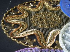tambour embroidery from Needle and Hook